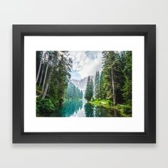 The Place To Be Framed Art Print by Mixed Imagery | Society6
