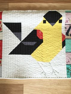 Charley Harper Inspired Quilt