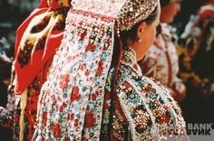 Hungarian folk dress from Transylvania