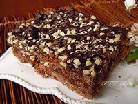 Crostata al cacao senza glutine, con cocco, amaretti e cioccolato