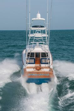 If you love to work with your hands, have basic carpentry skills and love the water, you should consider building your own boat. Building your own boat can save you lots of money. Ocean Fishing Boats, Sport Fishing Boats, Wooden Boat Plans, Wooden Boats, Yacht Design, Viking Yachts, Offshore Boats, Sailboat Plans, Build Your Own Boat