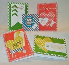 Everyday Card Kit, Stampin Up Everyday Occasions Card Kit, Paper Art Garden