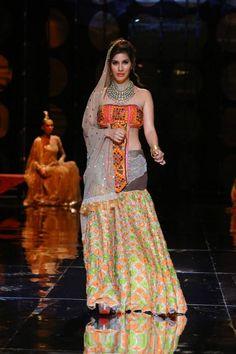 Sophie Chaudhary snapped hot at India Bridal Fashion Week.