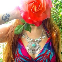 Our stunning Sujay Necklace ॐ www.ohmboho.com ॐ