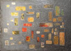"'A Big Reveal' by Linda Bailey | $1000 | 48""W x 36""H x 1.5""D | Original Art | http://vng.io/pauli_clariday @VangoArt"