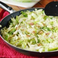 http://www.thekitchenismyplayground.com/2012/11/sauteed-cabbage-with-bacon.html