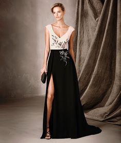 LA MODA ME ENAMORA : 10 vestidos de fiesta Pronovias 2017 en color negro