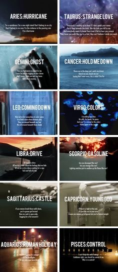 the signs + Badlands songs