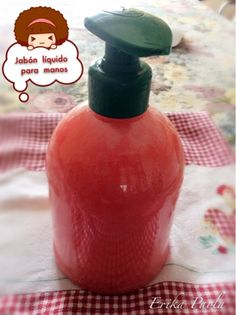 Erika Paola: Jabón liquido para las manos delicado y fácil de p...