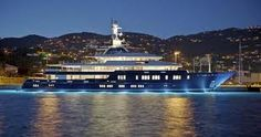 #MYNorthernStar managed by @moranyachts and currently sailing in #Mallorcan waters, is a 75 m #superyacht by @Lurssen, with #interiordesign by #PaulineNunn and #exteriordesign by #EspenOeino. She accommodates 12 guests, welcome through a #helicopterlandingpad. She also offers movies on rainy days in her custom built #movietheatre www.pureyacht.com #ownyourrefit