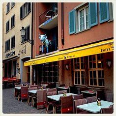 Zürich Niederdorf, Strassencafe