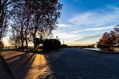 play of light in the Temple of Debod by Andrea Deg on 500px