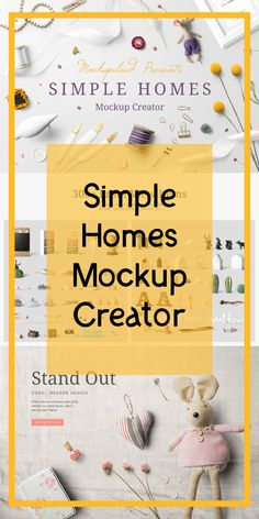 Simple Homes Mockup Creator Create premium quality images to showcase your poster frame presentations, website headers, Etsy, I Graphic Design Tips, Graphic Design Typography, Instagram Mockup, Marketing, Mockup Creator, Website Header, Etsy Business, Simple House, Headers