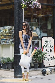 A Touch of Gingham (and a Little Fringe)