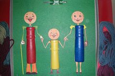 Knitting spool family | Flickr - Photo Sharing!