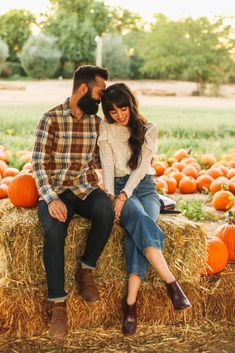 Fall Traditions: Our Annual Pumpkin Picking - New Darlings Fall Style at the Pumpkin Patch - Couples Photos - Fall Traditions Apple Orchard Photography, Pumpkin Patch Photography, Autumn Photography, Fall Couple Pictures, Fall Family Photos, Fall Photos, Fall Pics, Couple Pics, Picture Outfits