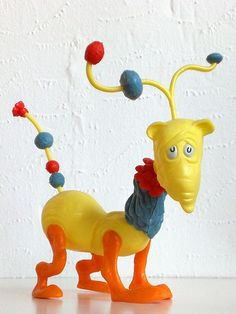 Dr. Seuss Zoo Model, Norval The Bashful Blinket