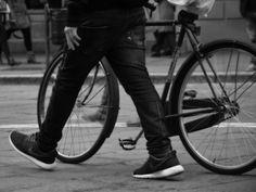 cammina con bici