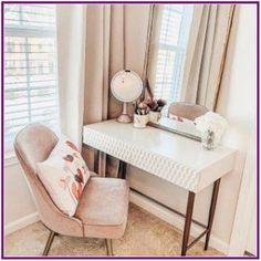 Audrey Mini Desk, Parchment - Decor Diy Home Bedroom Inspo, Home Decor Bedroom, Diy Bedroom, West Elm Bedroom, Girls Bedroom, Bedroom Ideas, Stylish Bedroom, Modern Bedroom, My New Room