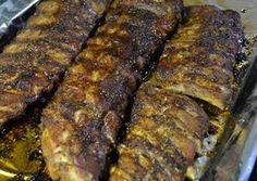 Spareribs van Oh My Goodness Bar B Que, Spare Ribs, Macaroni Cheese, Family Meals, Buffet, Pork, Healthy Recipes, Meat, Dinner