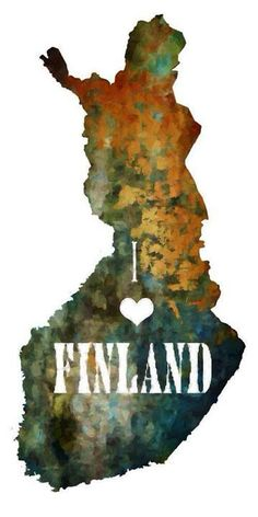 It's my heritage.  Suomi.