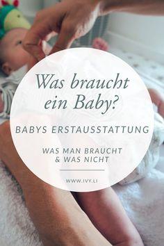 Erstausstattung für Babys | Was braucht ein Baby? | Schwangerschaft | Geburt | Wochenbett | Frischgebackene Eltern | Mutterschaft | Mama sein | Leben mit Kind | Neugeborenes | Mehr auf ivy.li | #baby #schwangerschaft #geburt