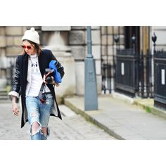 Tommy Ton Shoots the Street-Style Scene at the Fall 2012 Shows ❤ liked on Polyvore