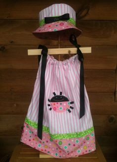 Pillowcase dress for  your little girl by Rosiebagosie on Etsy