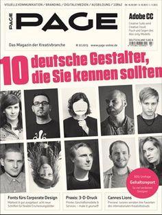 PAGE 07.2013 - 10 deutsche Gestalter, die Sie kennen sollten