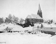 Anti aircraft gun Ardennes