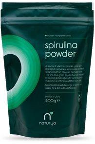 Poudre de Spiruline Bio 200g - M - N - O/NATURYA - Nutri Etc...