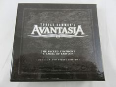 Avantasia - Wicked Symphony,The / Angel Of Babylon DCD Deluxe Edition