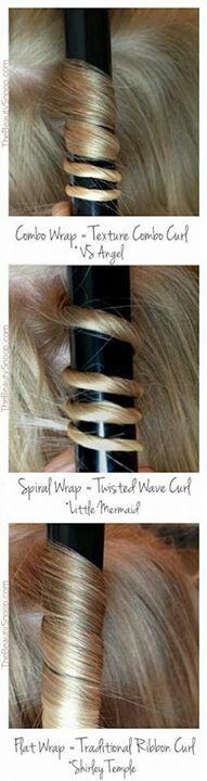 Hair curling tips!