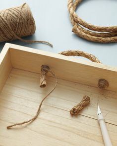 Rope-Handled Caddy | Step-by-Step | DIY Craft How To's and Instructions| Martha Stewart