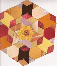 Paper Quilt 01 by RebeccaLongArt on @DeviantArt