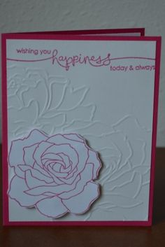 Floral Anniversary Card by WausauSue - Cards and Paper Crafts at Splitcoaststampers