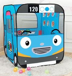Dimensions in cm: x x / Weight: no ball/ you can get just a tent. Farm Birthday, 2nd Birthday Parties, Birthday Ideas, Tayo The Little Bus, Baby Tent, Robocar Poli, Bubble Party, Penguin Party, Wheels On The Bus