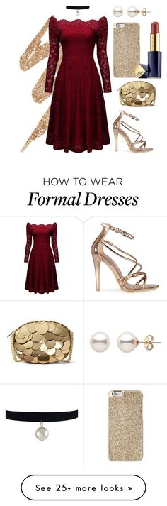 """""""Red Birthday"""" by jcvillasis on Polyvore featuring Urban Decay, Michael Kors, MICHAEL Michael Kors and Estée Lauder"""