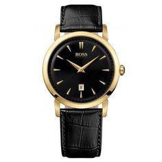 4d411e9ac32408 Hugo Boss Black Dial Black Leather Mens Watch 1512909 Review Men's Watches,  Hugo Boss Watches