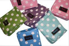 Lunchbags - ♥ Mini LunchBag Die Originalen! mit Wunschnamen - ein Designerstück von fraujottpunkt bei DaWanda