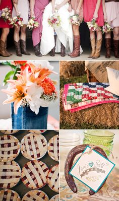 Throw a honky-tonk bridal shower!