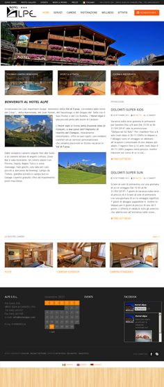 Hotel Alpe CMS Wordpress style Our Photo Service - www,hotelalpe.com