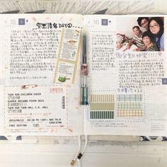 #HOBO#hobonichi#ほぼ日手帳#ほぼ日#diary#手帳#手帳好朋友#カズン#maskingtape #マステ