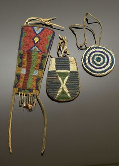 Plains Beaded Pouches, (2005, American Indian Auction / Mar 10-11)