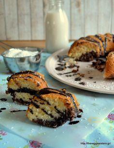 Vegan κέικ σοκολάτα καρύδα French Toast, Muffin, Pie, Breakfast, Desserts, Food, Torte, Morning Coffee, Tailgate Desserts