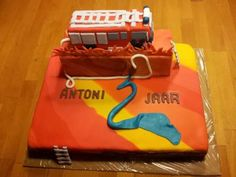 All about the fire department cake