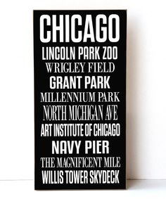 Look at this Chicago Subway Wall Sign on #zulily today!