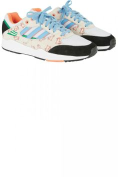 Trainers - Kenzo Colour-Block Palm Print Trainers, £210 - Page 30 | Fashion Pictures | Marie Claire