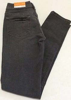 ffd31042f107 MOSSIMO JEANS SUPPLY CO DENIM JEANS SKINNY SZ 1 Slim Fit Grey Wash  distressed  MOSSIMO