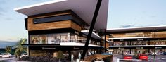 Discover recipes, home ideas, style inspiration and other ideas to try. Shopping Mall Architecture, Office Building Architecture, Retail Architecture, Commercial Architecture, Building Facade, Architecture Design, Mall Facade, Retail Facade, Plaza Design